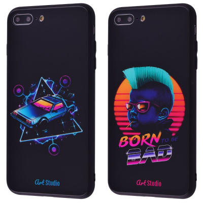 Купить ArtStudio Case CyberPunk Series (HQ Glass+TPU) iPhone 7 Plus/8 Plus 28200 - Ncase