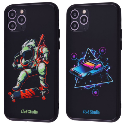 Купить ArtStudio Case CyberPunk Series (HQ Glass+TPU) iPhone 11 Pro Max 28205 - Ncase