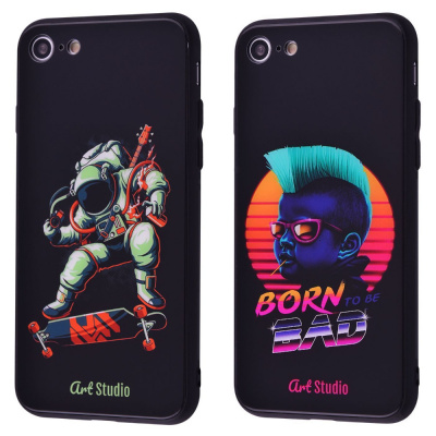 Купить ArtStudio Case CyberPunk Series (HQ Glass+TPU) iPhone 7/8/SE 2 28199 - Ncase