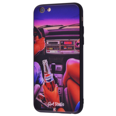 Купить ArtStudio Case CyberPunk Series (HQ Glass+TPU) iPhone 6/6s 28198 - Ncase