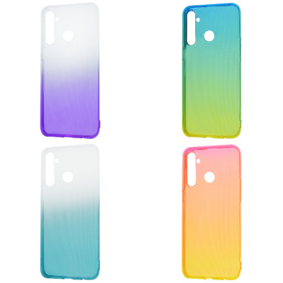 Купить Силикон 0.5 mm Gradient Design Realme 5 Pro 28257 - Ncase