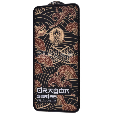 Купить Защитное стекло FULL SCREEN KAIJU GLASS Dragon Series iPhone Xs Max/11 Pro Max 27768 - Ncase