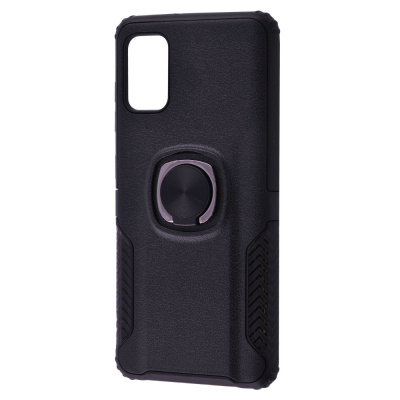 Купить Leather Design Case With Ring (PC+TPU) Samsung Galaxy A41 (A415) 28498 - Ncase