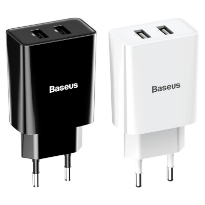 Купить СЗУ Baseus Speed Mini Dual U Charger 10.5W 2USB 28587 - Ncase