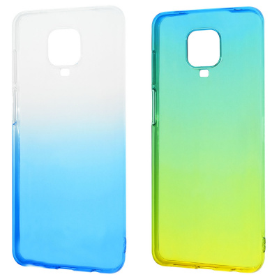 Купить Силикон 0.5 mm Gradient Design Xiaomi Redmi Note 9S/Note 9 Pro 28561 - Ncase