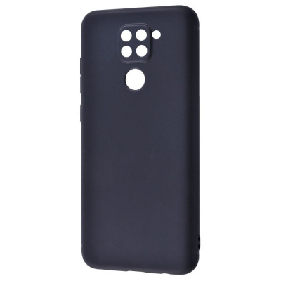 Купить Силикон 0.5 mm Black Matt Xiaomi Redmi Note 9 28573 - Ncase