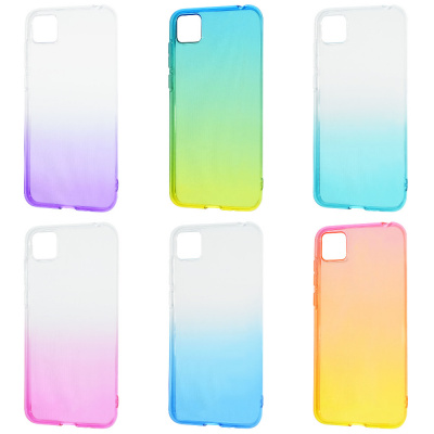 Купить Силикон 0.5 mm Gradient Design Huawei Y5p/Honor 9S 28701 - Ncase