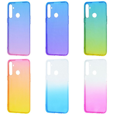 Купить Силикон 0.5 mm Gradient Design Realme 5/6i 28644 - Ncase