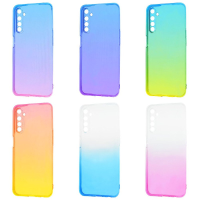 Купить Силикон 0.5 mm Gradient Design Realme 6 28705 - Ncase