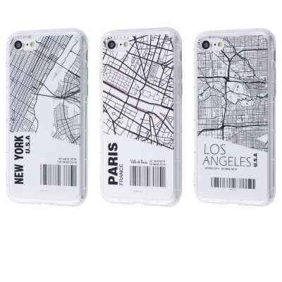 Купить Maps City Case (TPU) iPhone 7/8/SE 2 28859 - Ncase