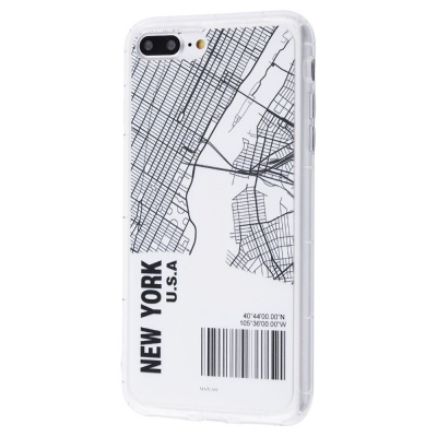 Купить Maps City Case (TPU) iPhone 7 Plus/8 Plus 28858 - Ncase
