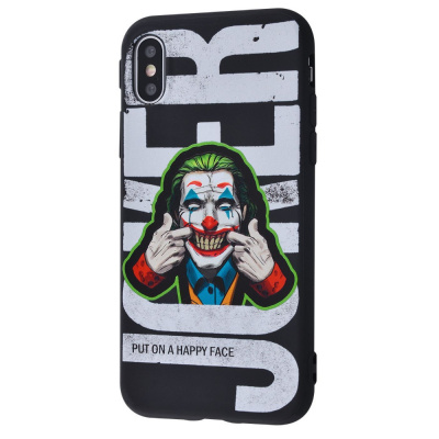 Купить Joker Scary Face case (TPU) iPhone X/Xs 29003 - Ncase