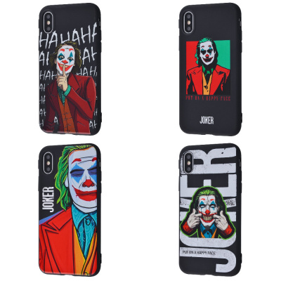 Купить Joker Scary Face case (TPU) iPhone Xs Max 29004 - Ncase