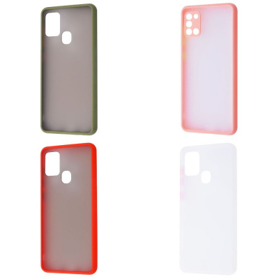Купить Matte Color Case (TPU) Samsung Galaxy A21s 29096 - Ncase