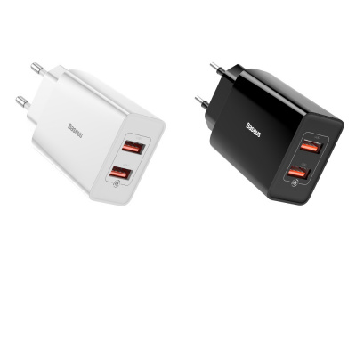 Купить СЗУ Baseus Speed Mini QC Dual U Charger 18W (2 USB) 29279 - Ncase