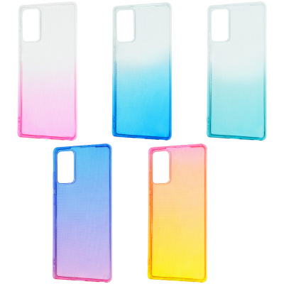 Купить Силикон 0.5 mm Gradient Design Samsung Galaxy Note 20 29532 - Ncase