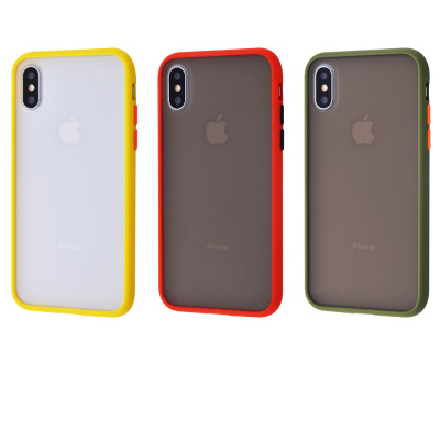 Купить Shadow Matte Case (PC+TPU) iPhone Xs Max 29554 - Ncase
