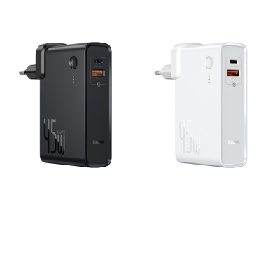 Купить СЗУ Baseus Power Station 2 in 1 10000 mAh 45W + Cable Type-C  to Type-C 60W (1m) 29934 - Ncase