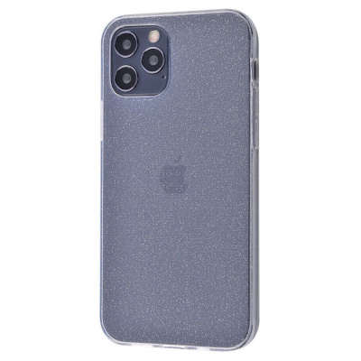 Купить High quality silicone with sparkles 360 protect iPhone 12 Pro Max 30137 - Ncase