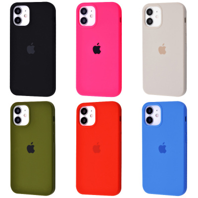 Купить Silicone Case Full Cover iPhone 12 mini 30267 - Ncase