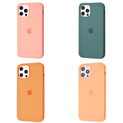 Купить Silicone Case Full Cover iPhone 12/12 Pro 30209 - Ncase