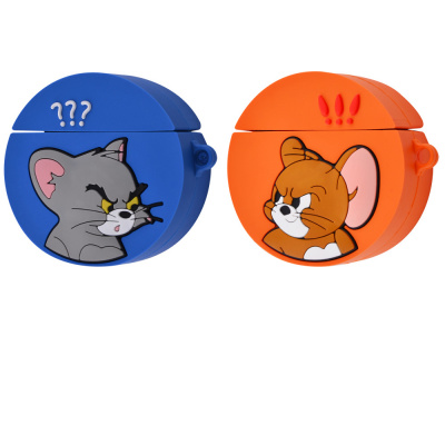 Купить Tom and Jerry Circle Case for Airpods 1/2 30313 - Ncase