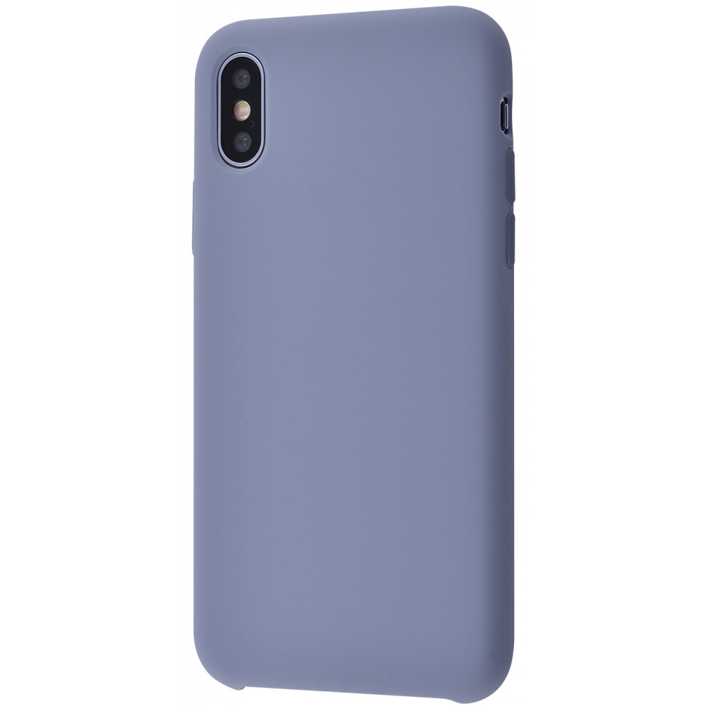 Silicone Case Without Logo iPhone Xs Max - фото 1