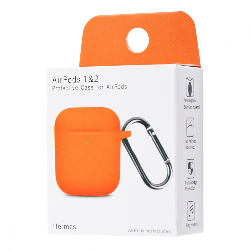 Silicone Case New for AirPods 1/2 - фото 1