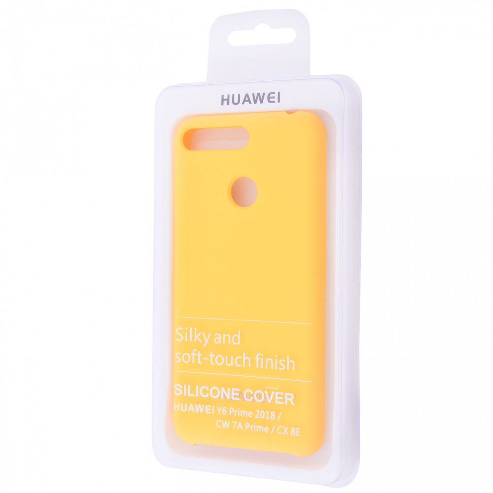 Silicone Cover Huawei Y6 Prime 2018/7A Pro/7C/Enjoy 8e - фото 1