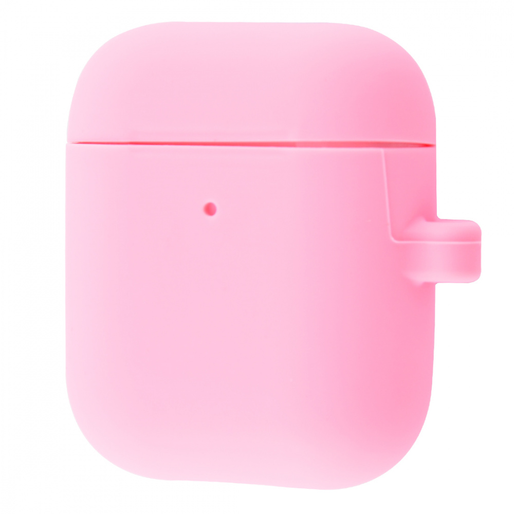 Silicone Case Slim with Carbine for AirPods 2 - фото 8