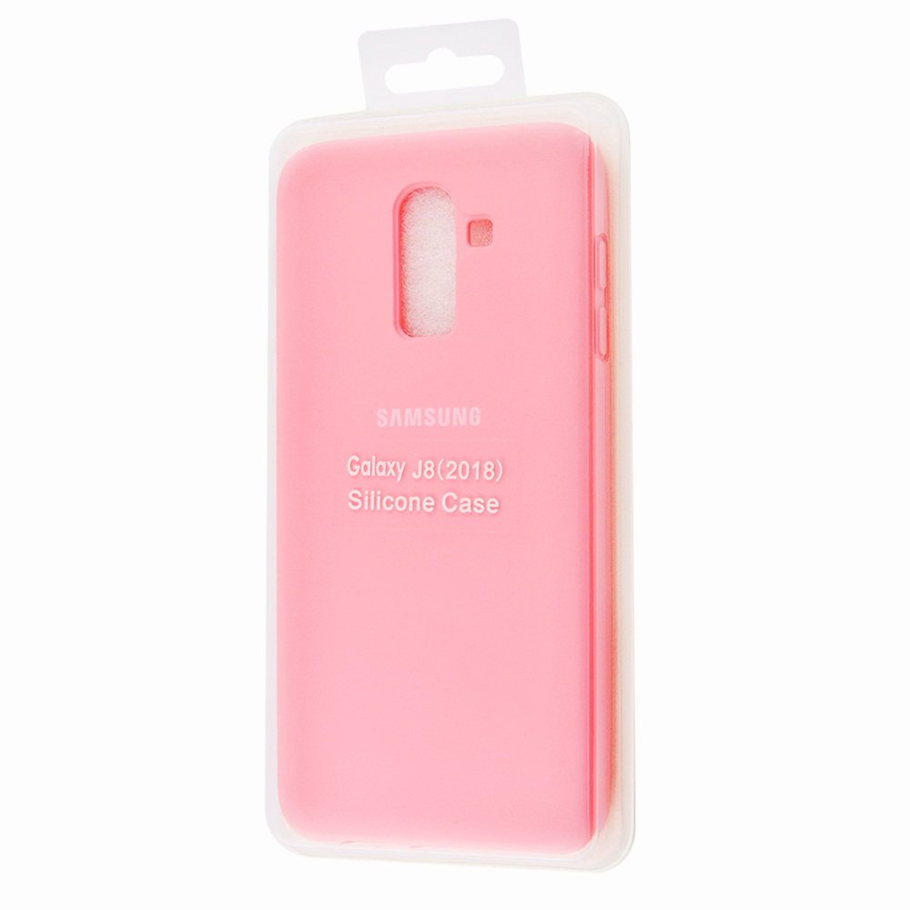 Silicone Cover Full Protective Samsung Galaxy J8 2018 (J810F) - фото 1