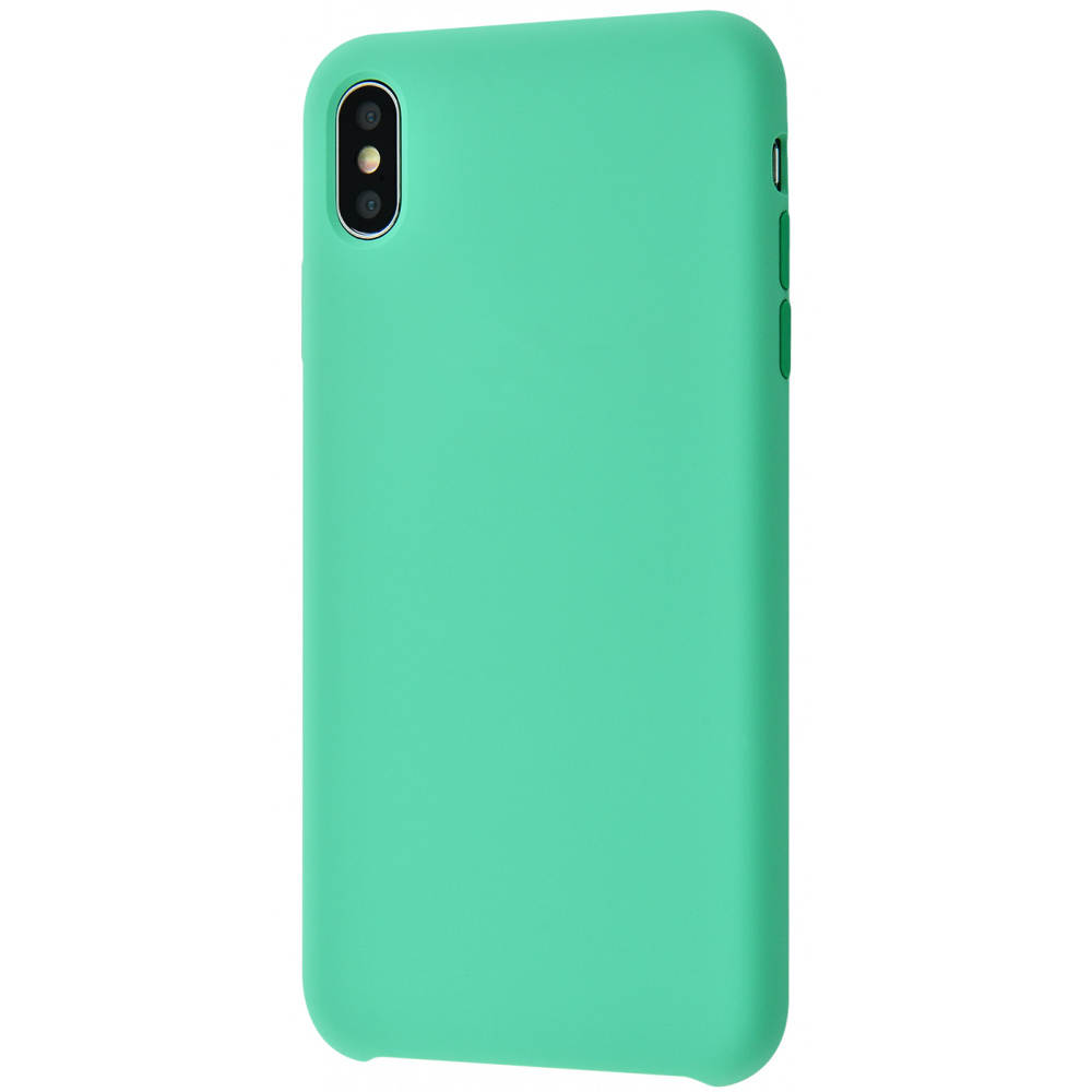 Silicone Case Without Logo iPhone Xs Max - фото 6