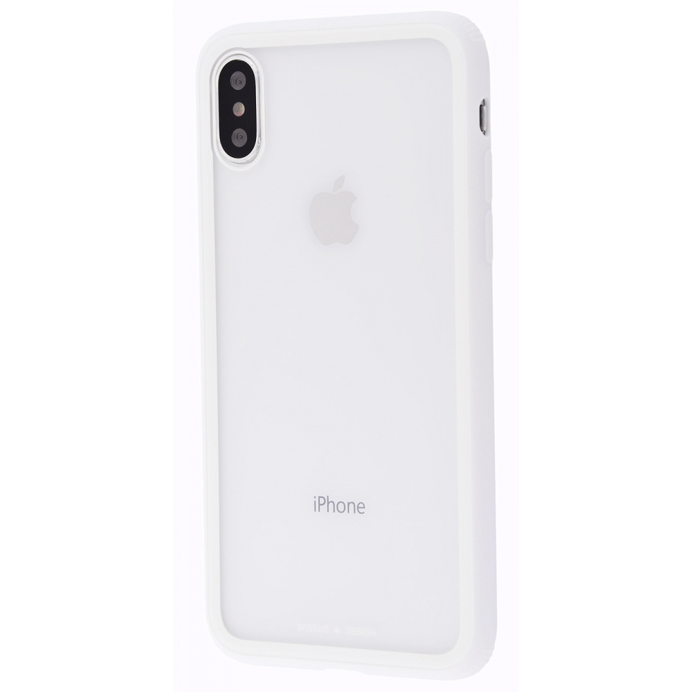 Baseus See-Through Glass Protective Case (TPU) iPhone Xs Max