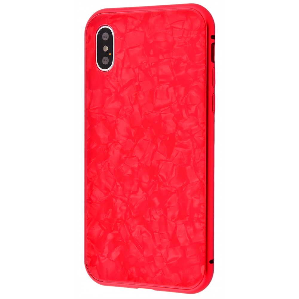Magnette glass case Full 360 Jelly Eye series iPhone Xs Max - фото 1