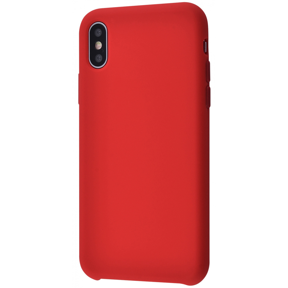 Silicone Case Without Logo iPhone Xs Max - фото 3
