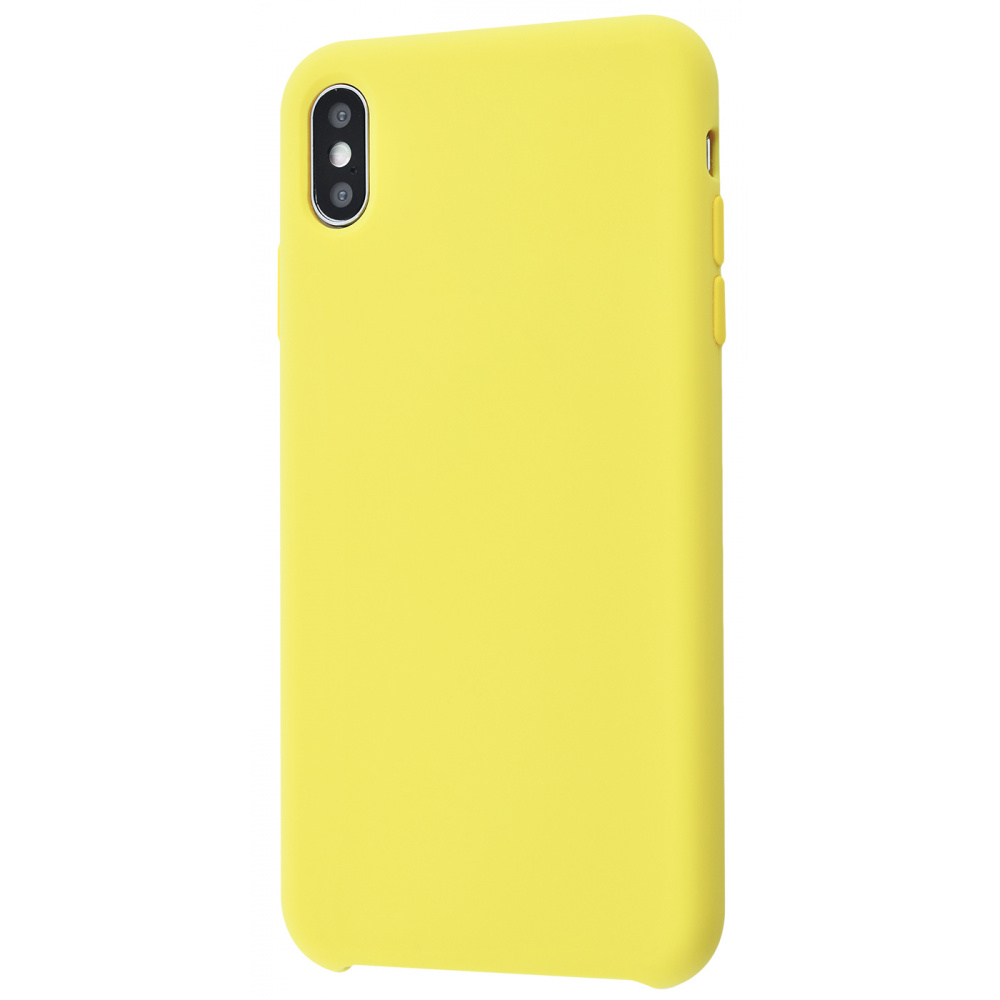 Silicone Case Without Logo iPhone Xs Max - фото 9