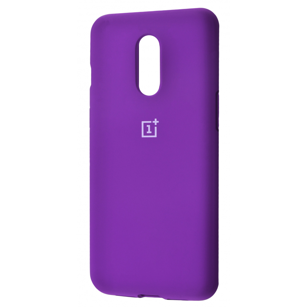 Silicone Cover Full Protective OnePlus 7 - фото 7
