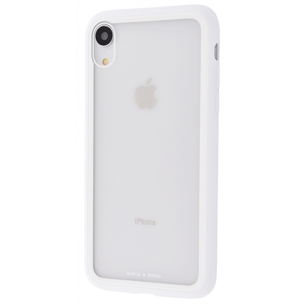 Baseus See-Through Glass Protective Case (TPU) iPhone Xr