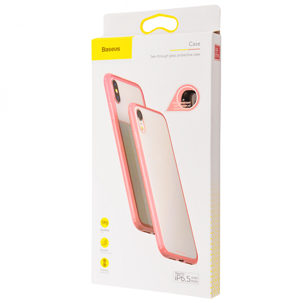 Baseus See-Through Glass Protective Case (TPU) iPhone Xs Max - фото 1