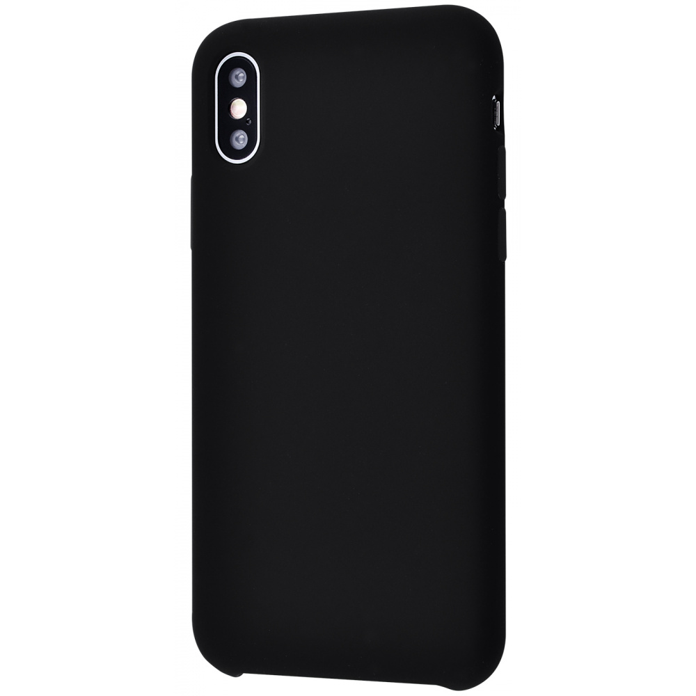 Silicone Case Without Logo iPhone Xs Max - фото 4