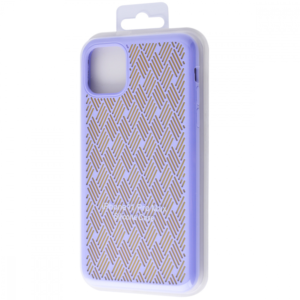 Silicone Weaving Case iPhone 11 Pro Max - фото 1