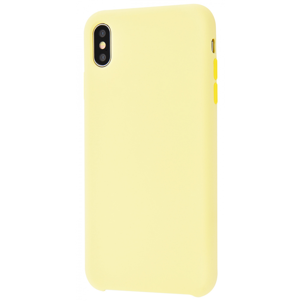 Silicone Case Without Logo iPhone Xs Max - фото 2