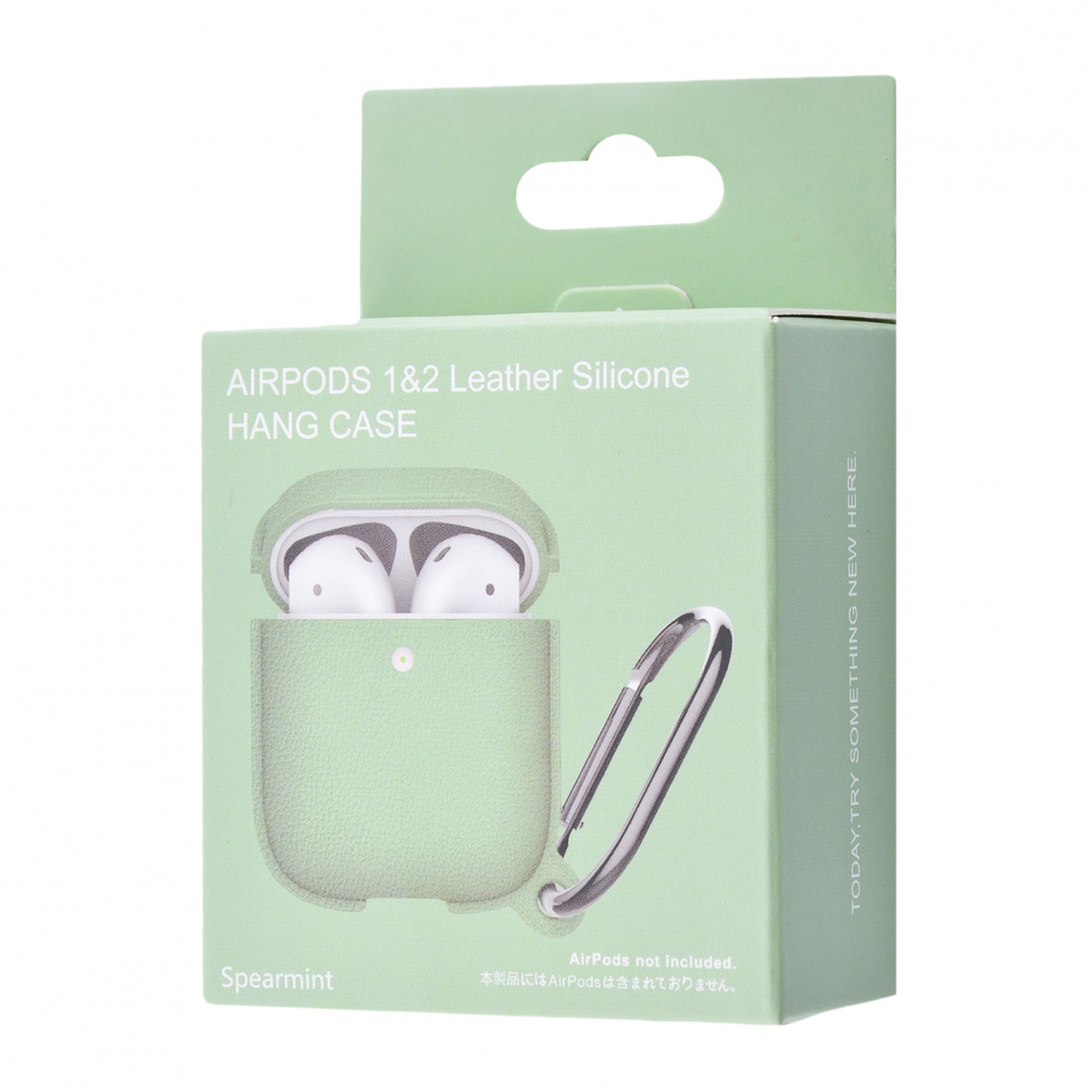 Silicone Leather Case for AirPods 1/2 - фото 1