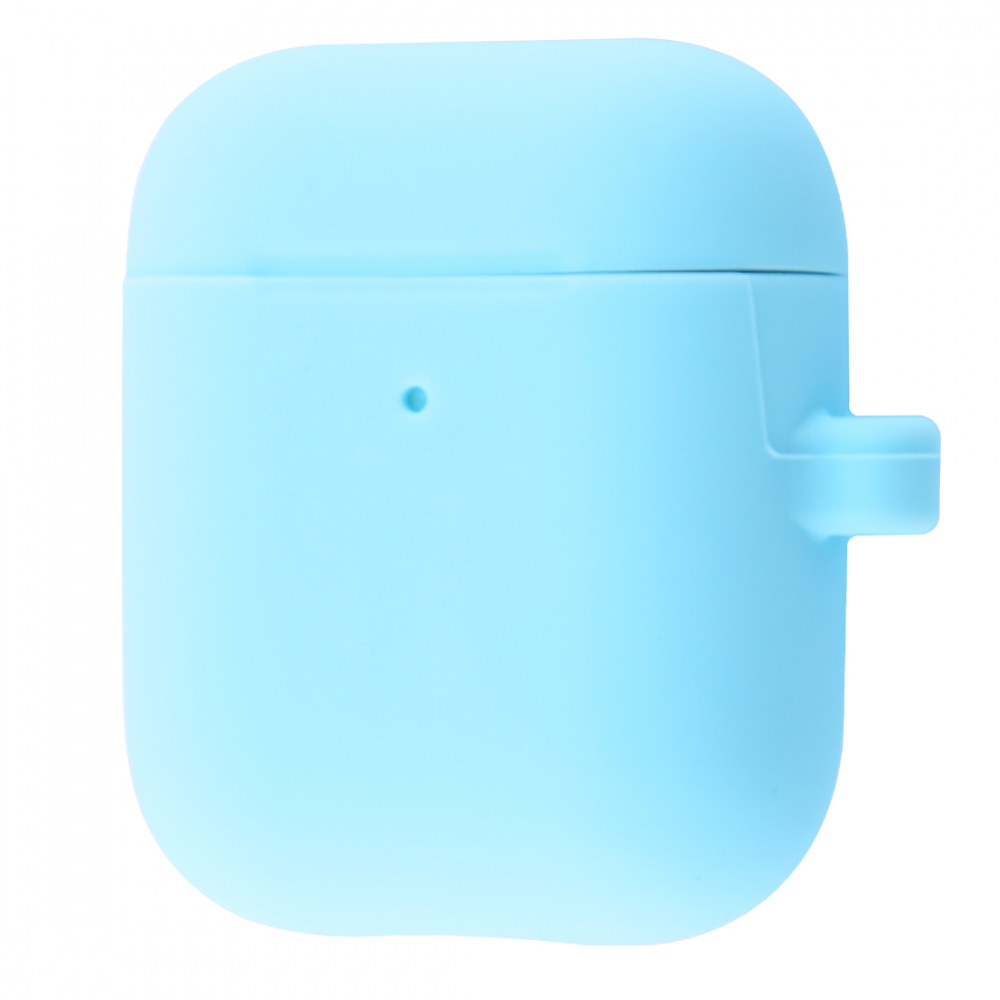 Silicone Case Slim with Carbine for AirPods 2 - фото 13