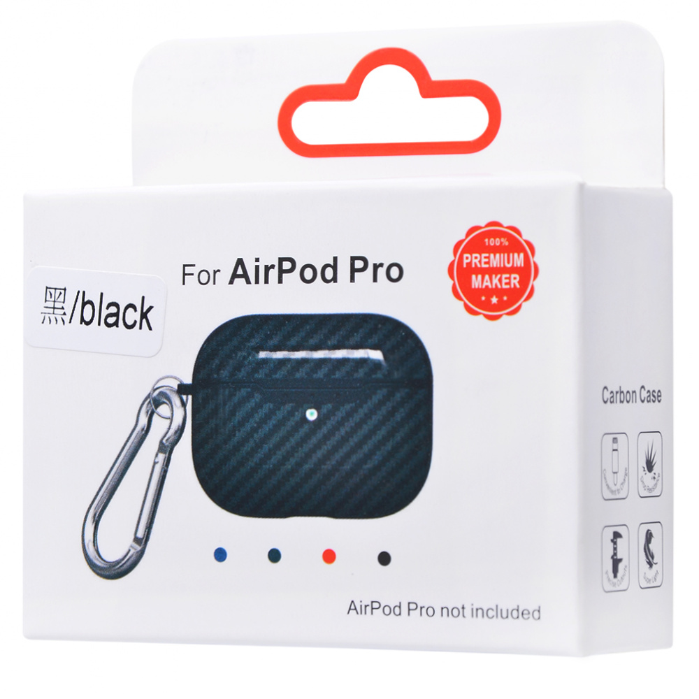 Carbon Imitation (TPU) Case for AirPods Pro - фото 1