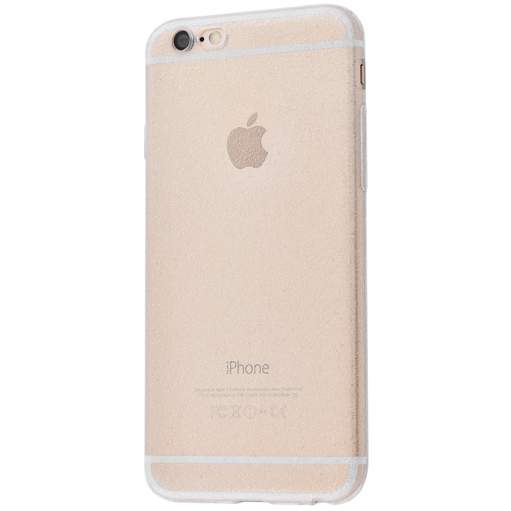High quality silicone with sparkles 360 protect iPhone 6/6s