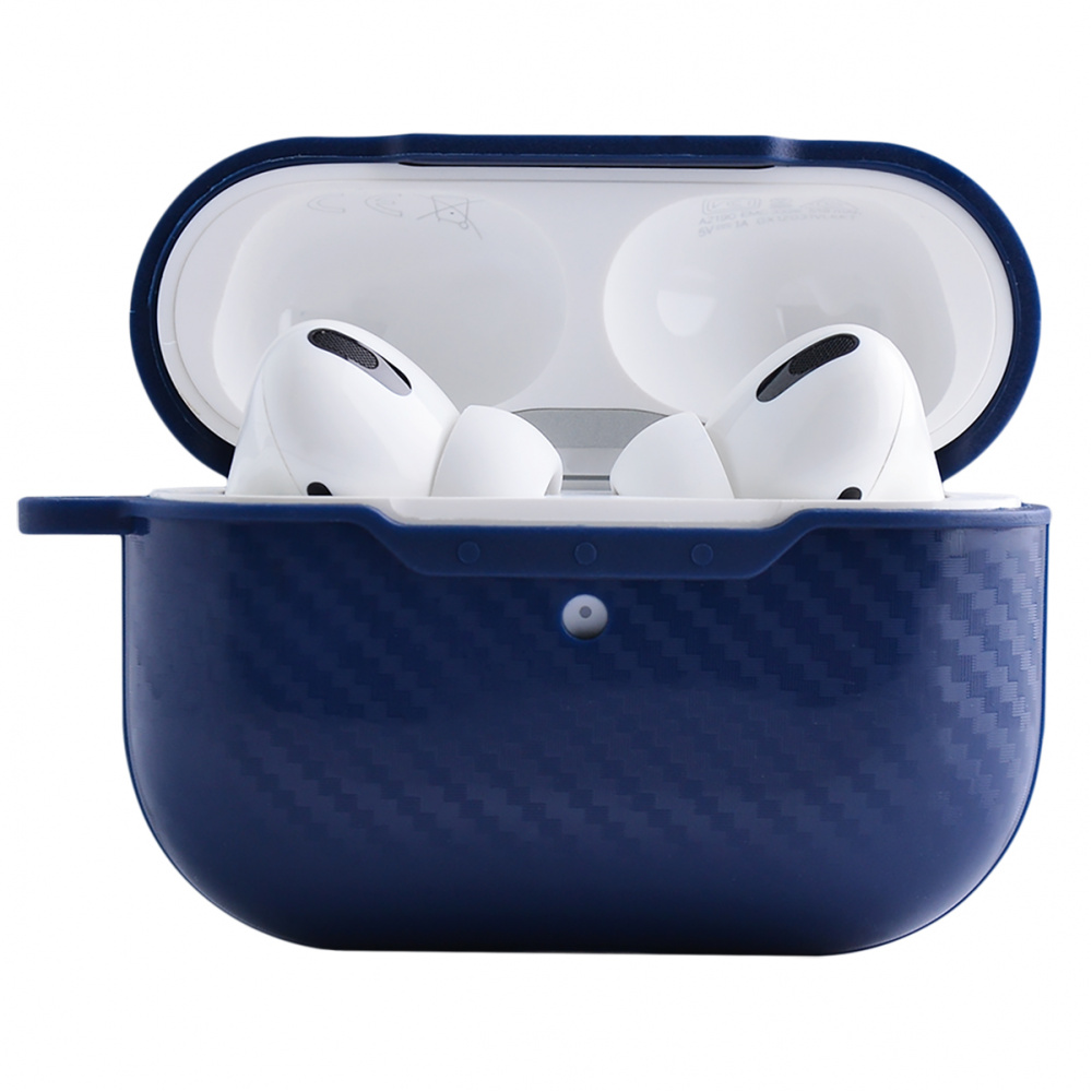 Carbon Imitation (TPU) Case for AirPods Pro - фото 2