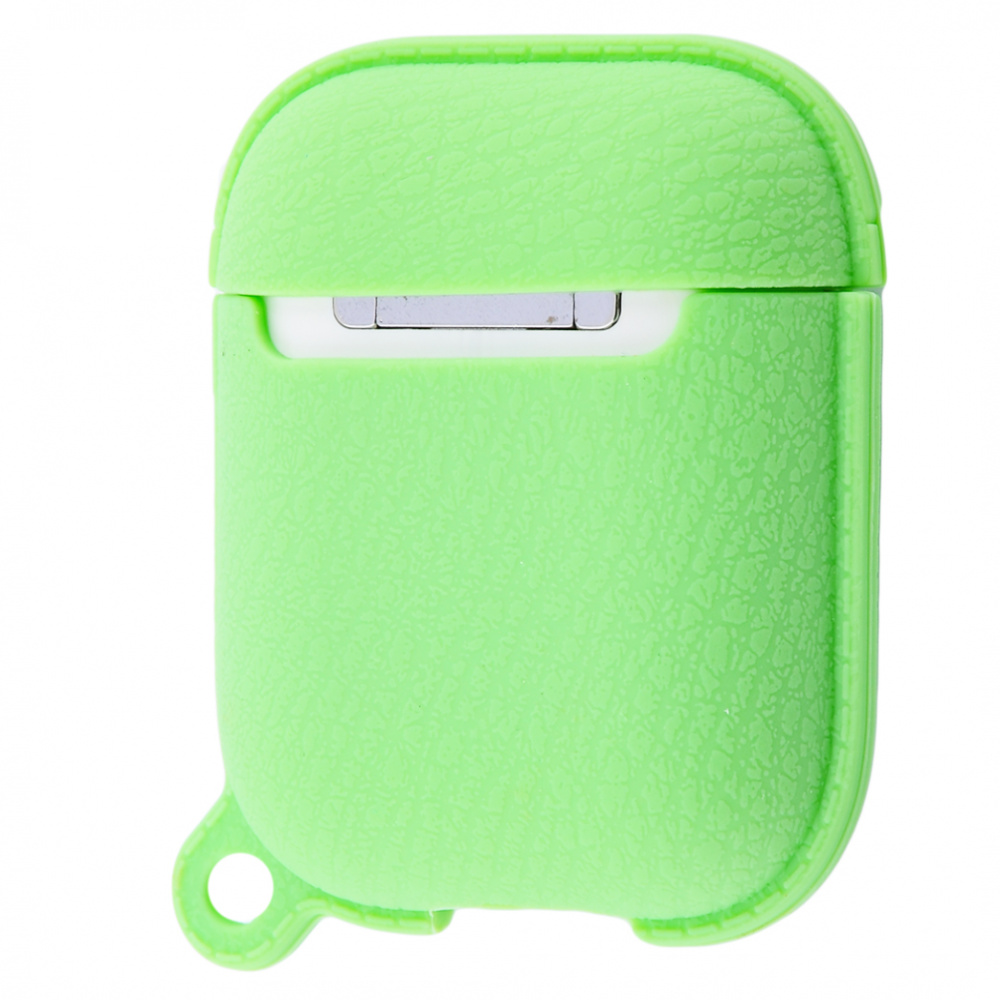 Silicone Leather Case for AirPods 1/2 - фото 3