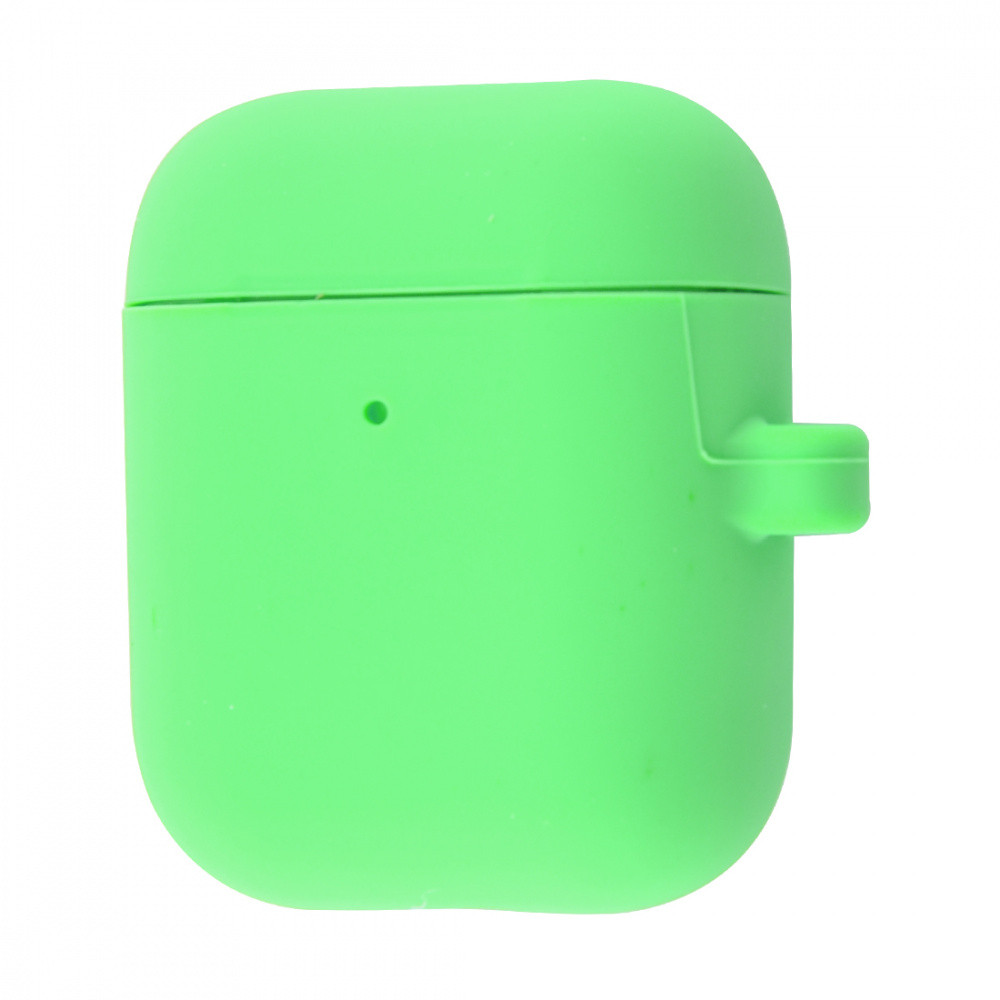 Silicone Case Slim with Carbine for AirPods 2 - фото 22